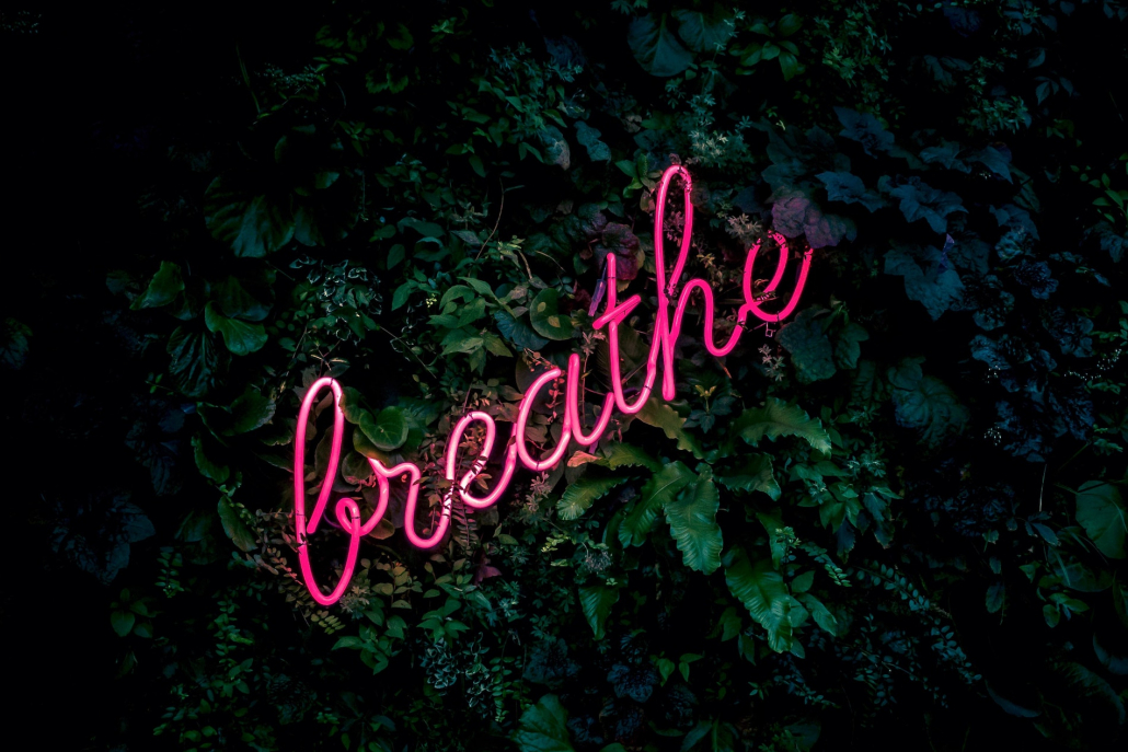 The importance of breathing for labour and birth and on line hypnobirthing classes