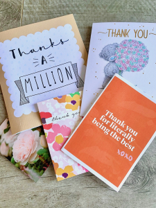 Hypnobirthing course thank you notes